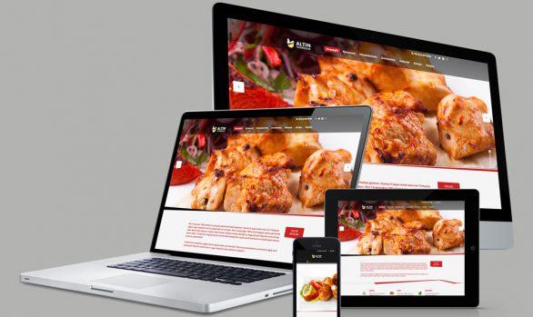 Altın Tavukçuluk Web Tasarımı