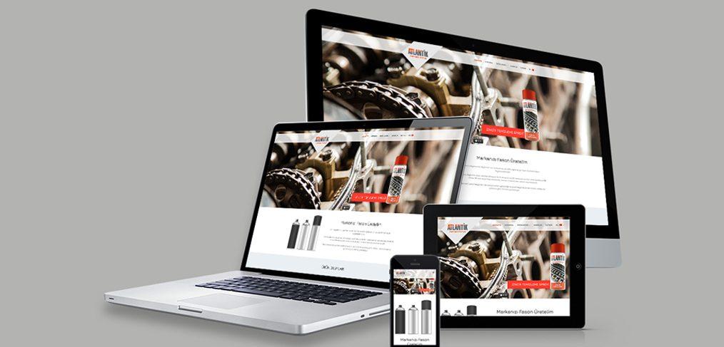 Atlantik Kimya Web Site Tasarımı