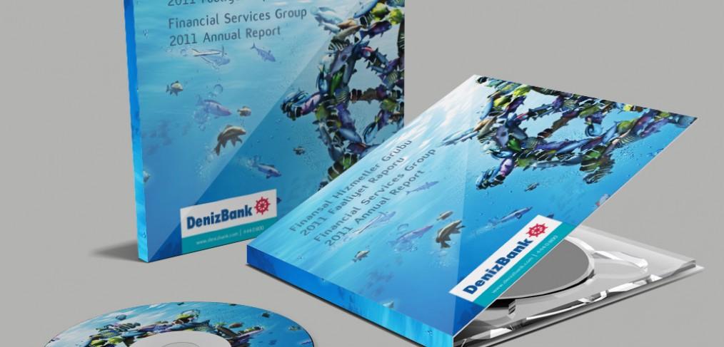 DenizBank Faaliyet Raporu İnteraktif CD Tasarımı