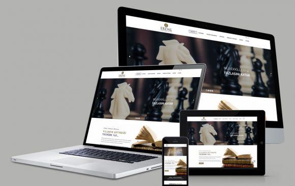 Erdal Law Web Tasarımı