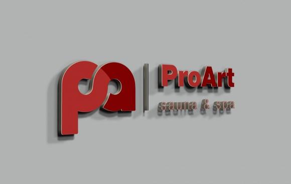 ProArt Sauna & Spa Logo Tasarımı