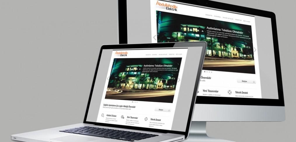Abdullahoğlu Elektirik Web Tasarım