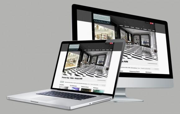 Adalı Cam Web Tasarımı