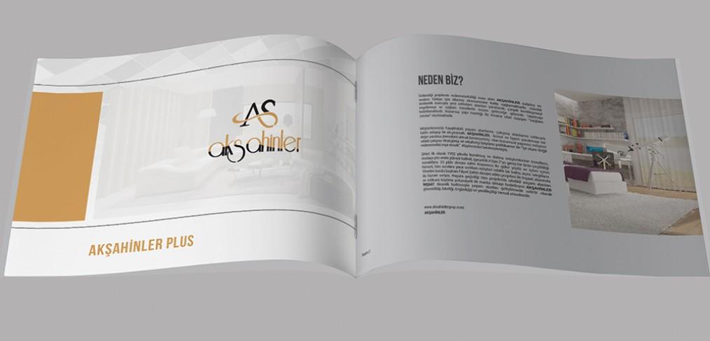 Akşahinler Grup Katalog Tasarımı