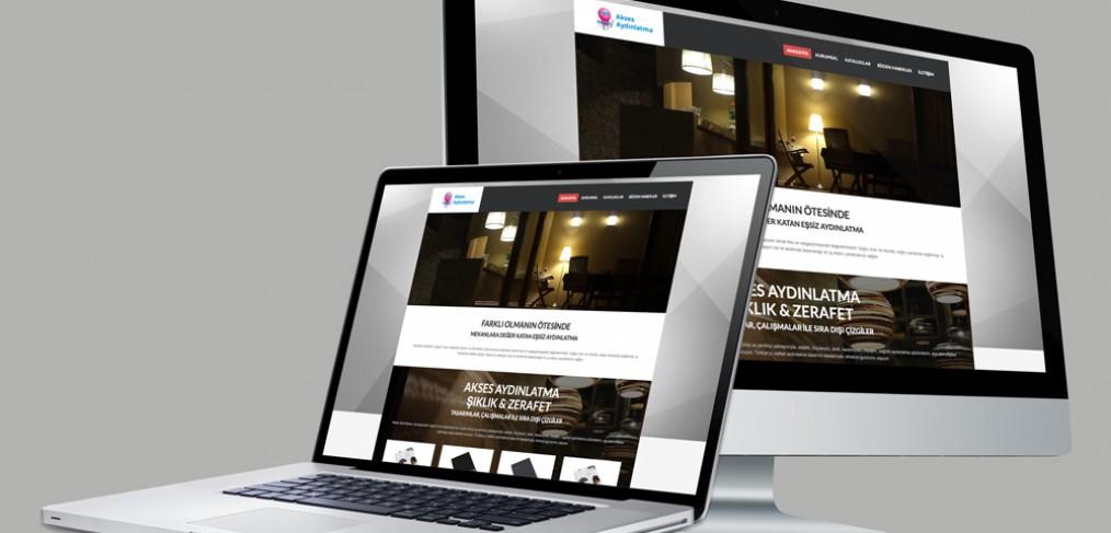 Akses Aydınlatma Web Site Tasarımı