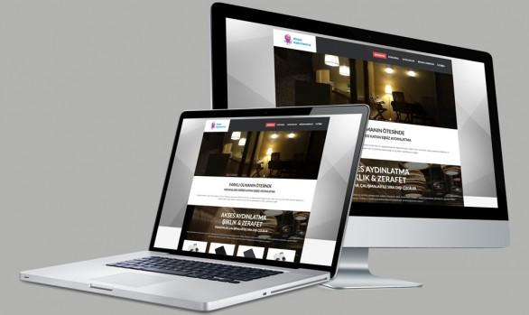 Akses Aydınlatma Web Tasarımı