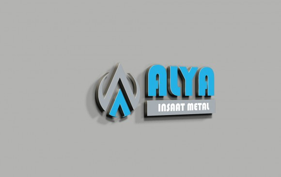 Alya İnşaat Logo Tasarımı