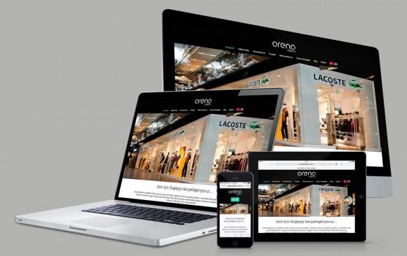 Arena Reklam Web Tasarımı