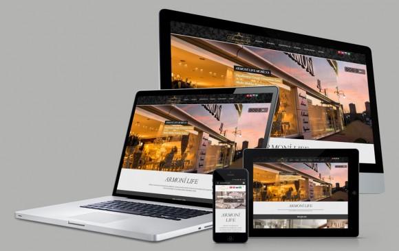 Armoni LIfe Web Tasarımı