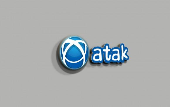 Atak Oyun Makinaları Logo Tasarımı