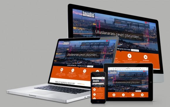 Baraka Tercüme Web Tasarımı