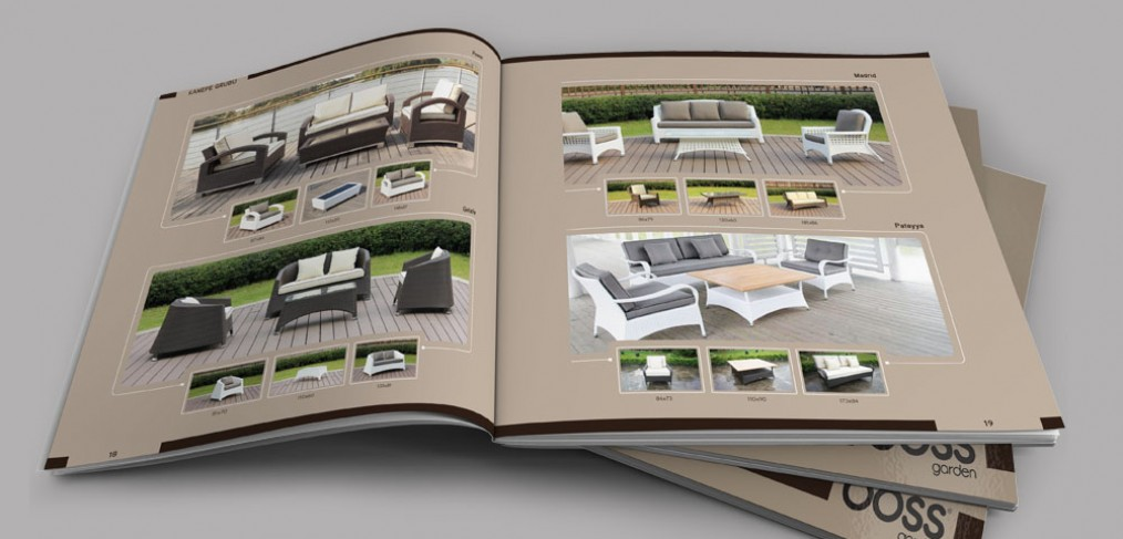 Boss Garden Katalog Tasarımı