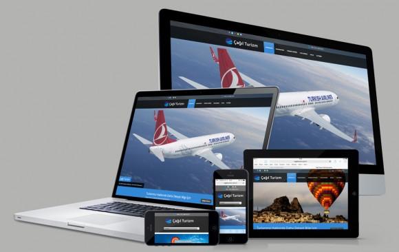 Çağıl Turizm Web Tasarımı