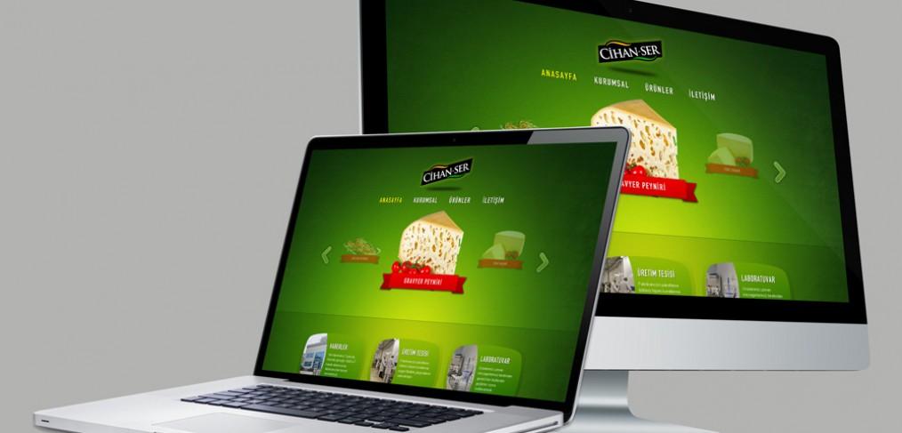 Cihanser Gıda Web Tasarım
