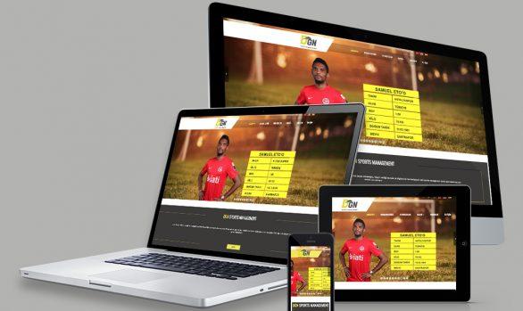 DGN SPORTS MANAGEMENT WEB TASARIMI