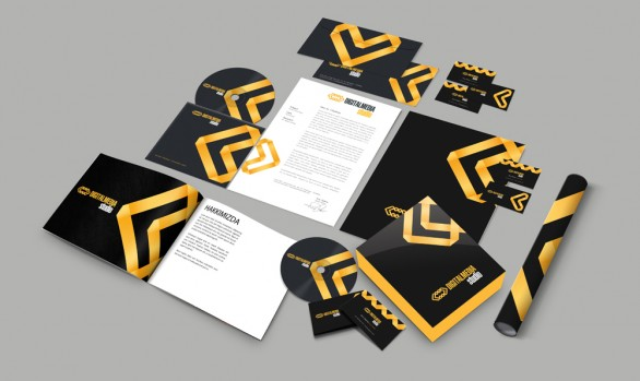 Digital Medıa Studio Kurumsal Kimlik Tasarımları