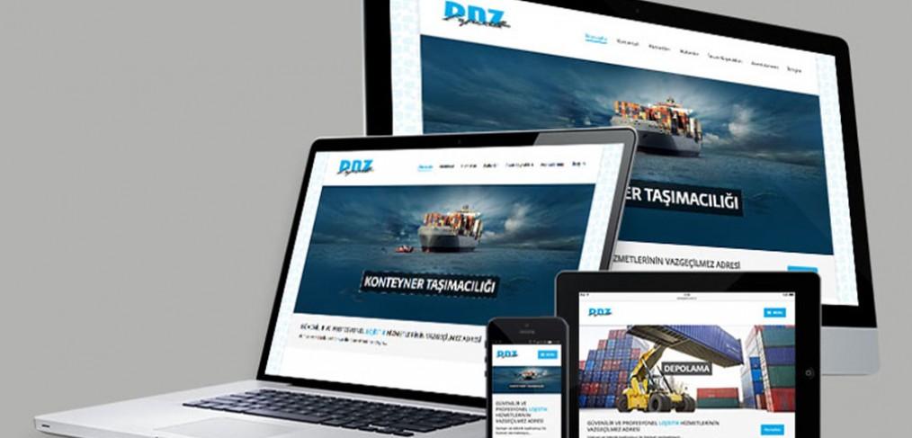 DNZ Lojistik Web Tasarımı