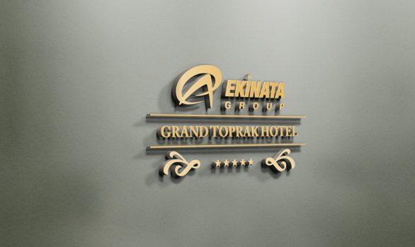 Ekinata Grand Toprak Hotel Logo Tasarımı