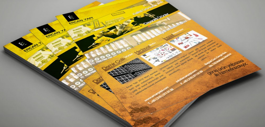 Ercan Yapı Flyer Tasarımı