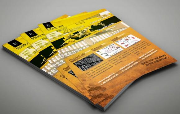 Ercan Yapı Broşür Tasarımı