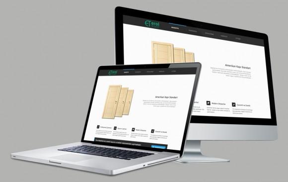 Erol Ticaret Web Tasarımı