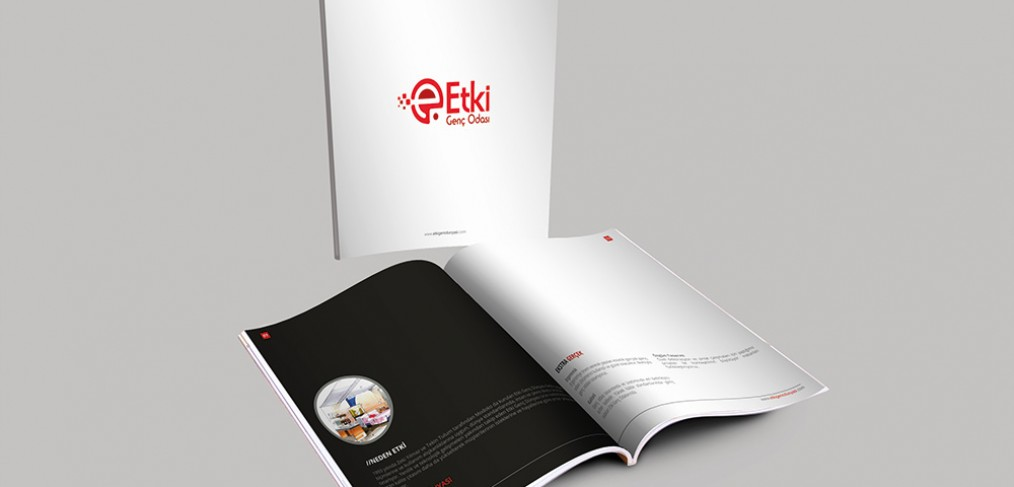 Etki Genç Dünyası Katalog Tasarımı