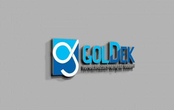 Goldek Logo Tasarımı