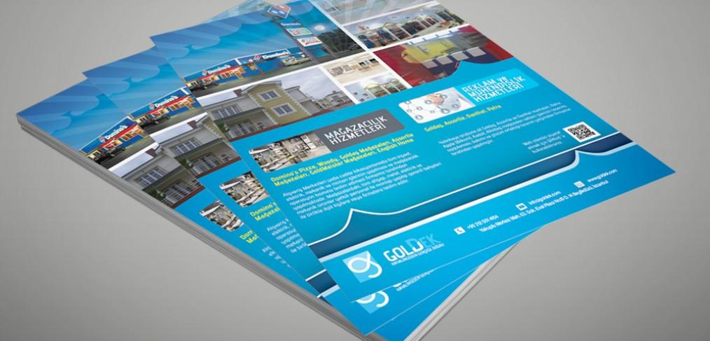 Goldek Flyer Tasarımı