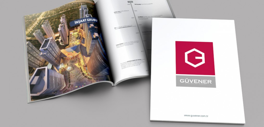 Güvener Şirketler Grubu Katalog Tasarımı