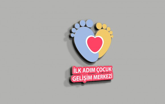 İlk Adım Çocuk Logo Tasarımı