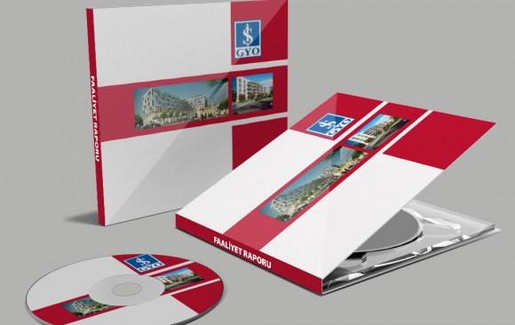 İş GYO İnteraktif CD Tasarımı