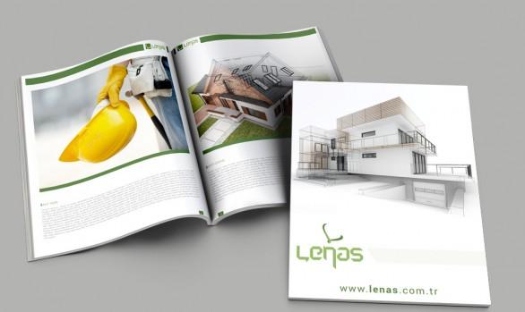 Lenas Gayrimenkul Katalog Tasarımı