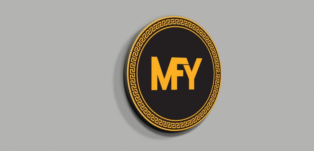 Men Fashion Year Logo Tasarımı
