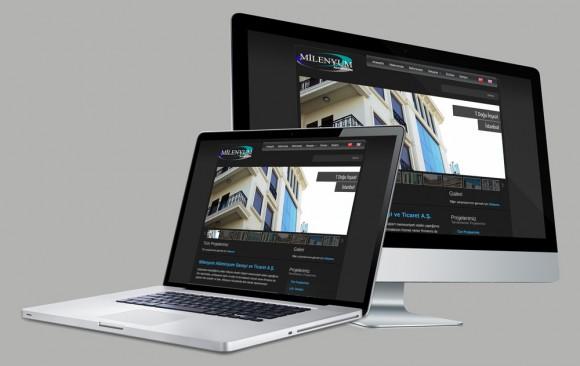 Milenyum A.Ş. Web Tasarımı