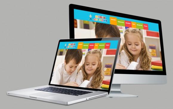 Minik Academy Web Tasarımı