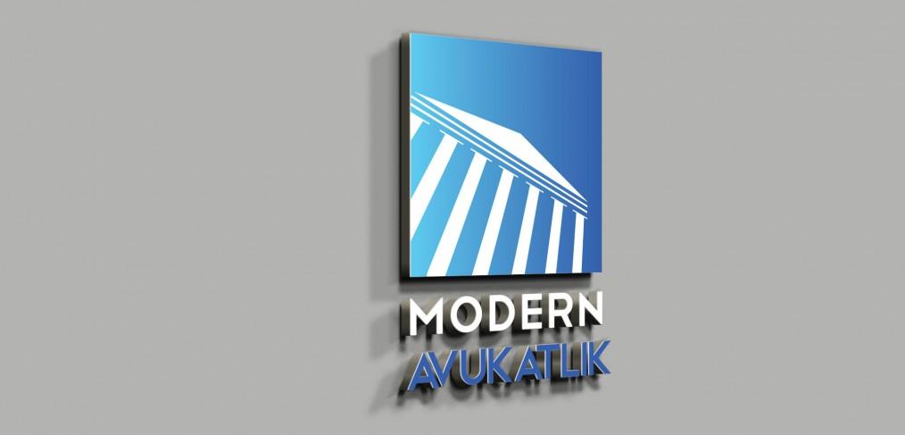 Modern Avukatlık Logo Tasarımı