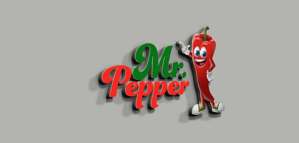 Mr.Pepper Logo Tasarımı