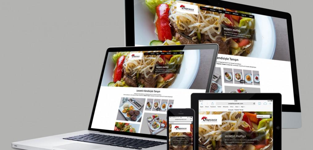 Önderler Yemek Web Site Tasarımı