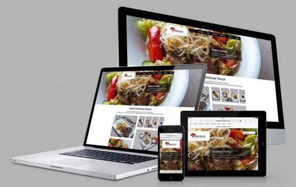 Önderler Yemek Web Tasarımı