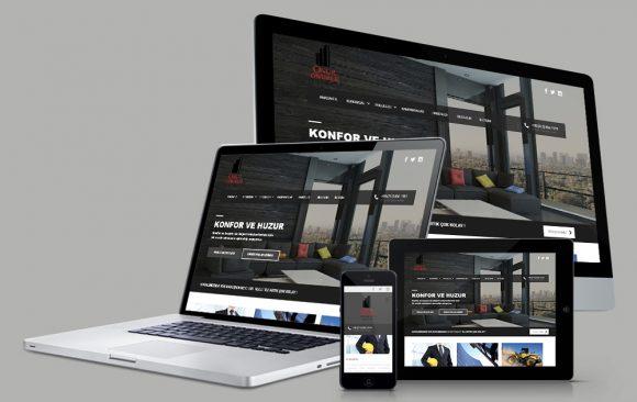 Onurum İnşaat Web Tasarımı