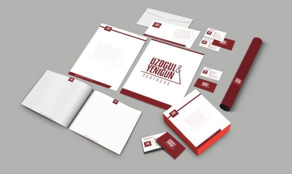 Özoğul Yenigün & Partners Kurumsal Kimlik Tasarımı