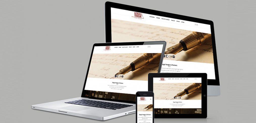 Özoğul Yenigün Partners Web Sitesi Tasarımı