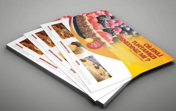 Pastane Broşür Tasarımı