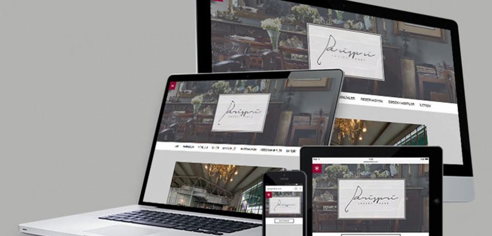 Perispri Lojistik Web Tasarımı