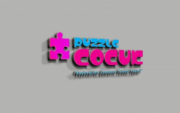 Puzzle Çocuk Logo Tasarımı