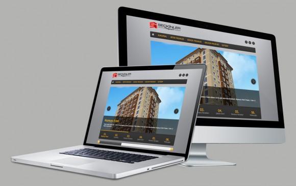 Seçkinler İnşaat Web Tasarımı