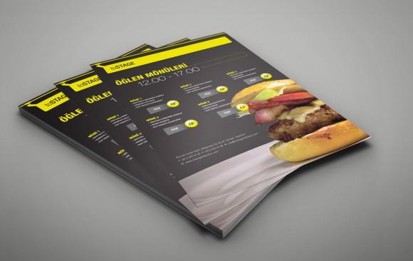 toSTAGE Broşür Tasarımı
