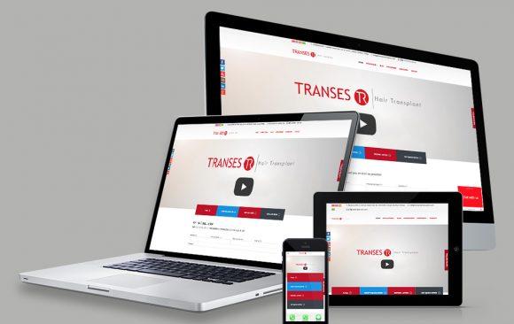 TRANSES HAIR TRANSPLANT WEB TASARIMI