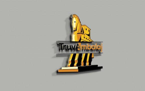 Truva Ambalaj Logo Tasarımı