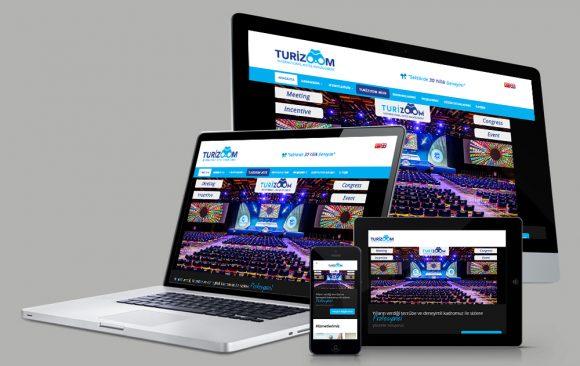 Turizoom Web Tasarımı